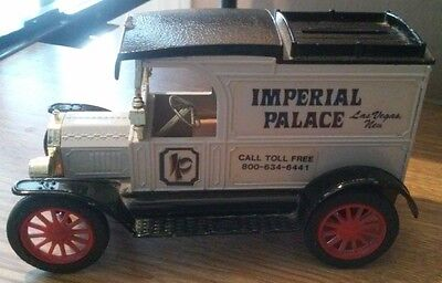 Imperial Palace Casino Las Vegas, Nevada 1913 Ford Model T Van Piggy Bank!