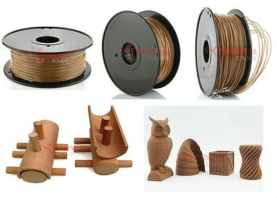 Woodfill 30% wood Filament (change colour by temp) 1.75mm / 3.00mm Torwell 1kg