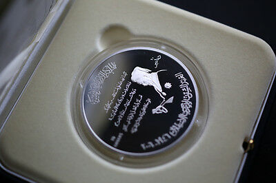 Jordan 10 Dinars Silver Coin 60th Independence Anniversary 120 Gram proof 2006