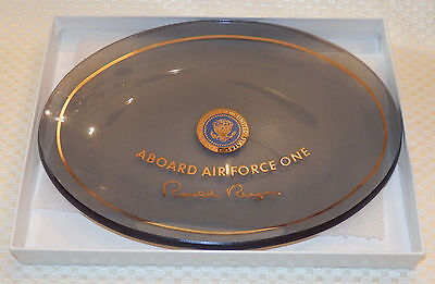 President Reagan candy dish of off Air Force One