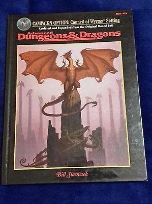 Campaign Option: Council of Wyrms Setting AD&D