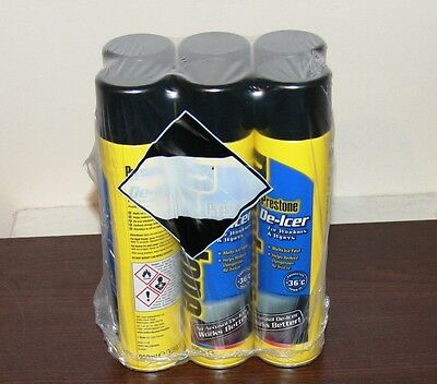 6x PRESTONE DE-ICER 600ML -36°c DEGREE PROTECTION