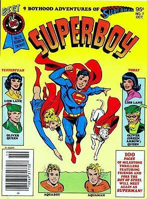 BEST of DC BLUE RIBBON DIGEST #7 NM! ~ Superboy!