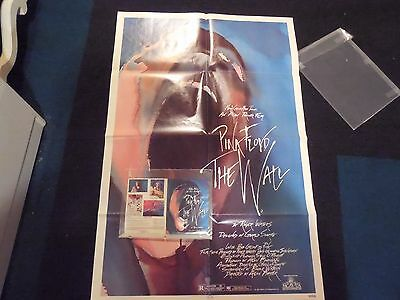 Pink Floyd The Wall One Sheet and Rare Movie Handout