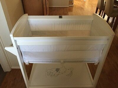 childcare white bassinet