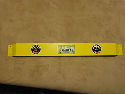 Door push bar antique vintage Polly  gasoline advertising Petro