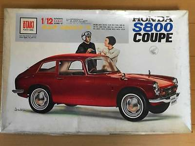 Otaki 1/12 Honda S800 COUPE Vintage Assembly kit From Japan F/S