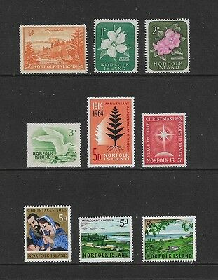 NORFOLK ISLAND - mixed mint pre-decimal collection No.3, MNH MUH