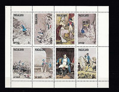 B10879 State of Oman KB postfr./mnh Gemälde paintings NAPOLEON