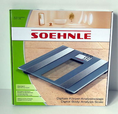 Soehnle 63355 Digitale Personenwaage Body Control Easy