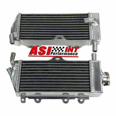 2 Rows Alumium Motorcycle Racing Radiator For Yamaha Yz125 2002 2003 2004