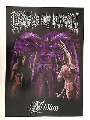 Cradle Of Filth,midian,rare Authentic Licensed 2000 Poster