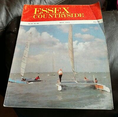 Vintage May 1972 The Essex Countryside Magazine Regional County Info