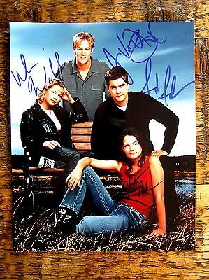 DAWSON'S CREEK Katie Holmes, James Van Der Beek & cast autographs