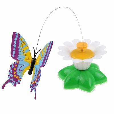 Funny Pet Cat Toys Electric Rotating Butterfly Bird Playing Teaser Toy For Cats