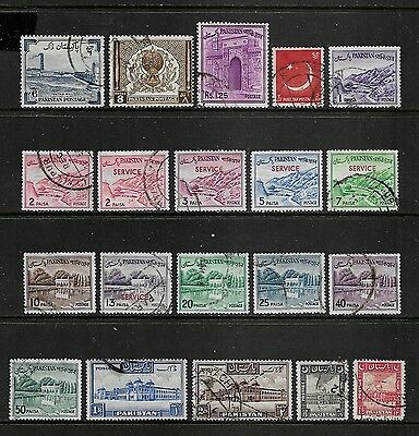 PAKISTAN - mixed collection No.7, incl Service opt