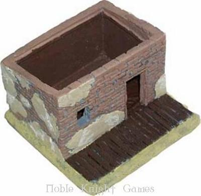 JR Miniatur Old West Building 25 Adobe Hovel w/Porch and Removable Ro Pack MINT