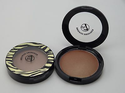 W7 The Bronzer Pressed Shimmer Finish Compact