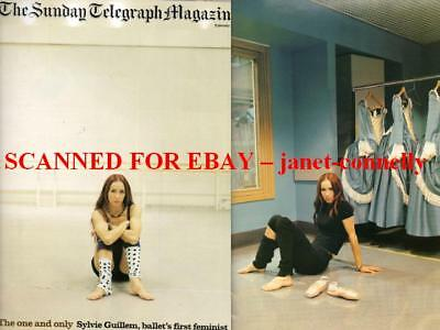 SYLVIE GUILLEM Patrick Marber Sunday Telegraph Mag (9 January 2005)