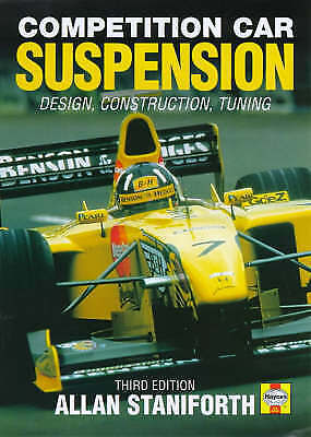 Competition Car Suspension: Design, Construction, Tuning, Good Condition Book, S