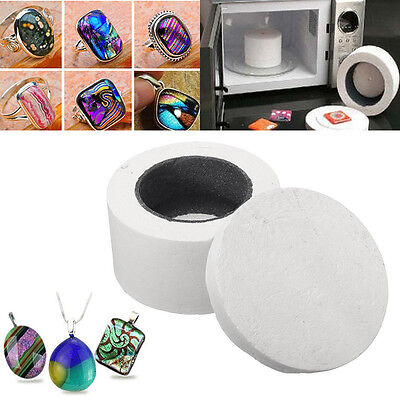 Ceramic Fibre Microwave Kiln Stained Glass Fusing Supplies Professional 8cm
