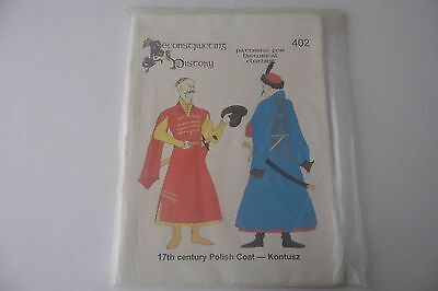 17Th Century Polish Coat. Reconstructing History.402. Paper Pattern.