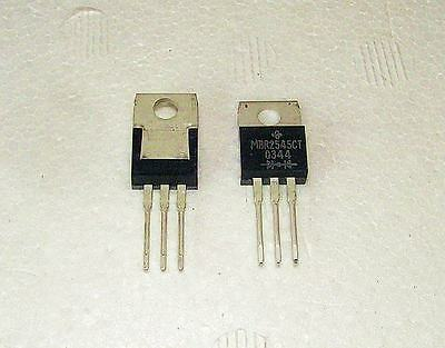 GeneralSemi 30A45V Dual Schottky Diode MBR2545 TO220 Lot-5pcs