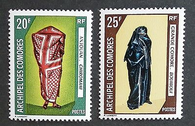 Comoros Island (1970) Costumes / Traditional Dress / Culture - Mint (MNH)