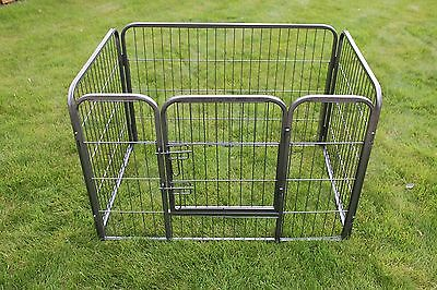 Large Heavy Duty Puppy Rabbit Dog Cat Cage Play Pen Crate Enclosure