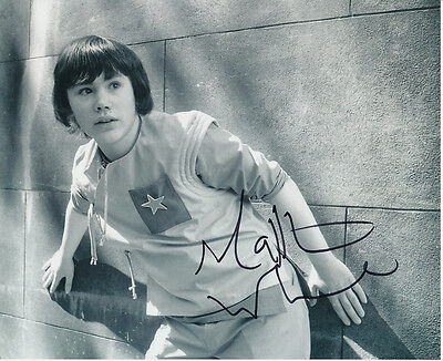 Matthew Waterhouse In Person Signed Photo - Doctor Who - AG323