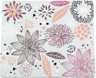 "LogiLink Tapis de souris ""Flower Field"""