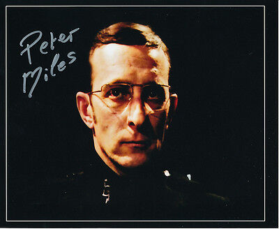 Peter Miles In Person Signed Photo - Doctor Who - AG292