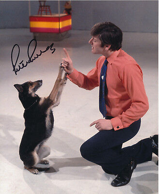 Peter Purves In Person Signed Photo - Doctor Who - AG322