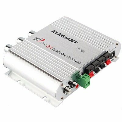200W 12V Hi-Fi Amplifier AMP Stereo Booster For Auto Car Motorcycle Radio MP3