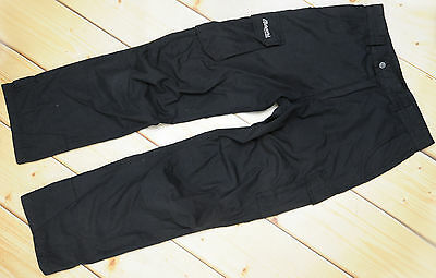 BERGANS OF NORWAY POLYCOTTON PANTS - lightweight outdoor cargo TROUSERS - S / 36