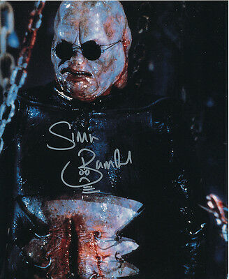 Simon Bamford In Person Signed Photo - Hellraiser - AG384