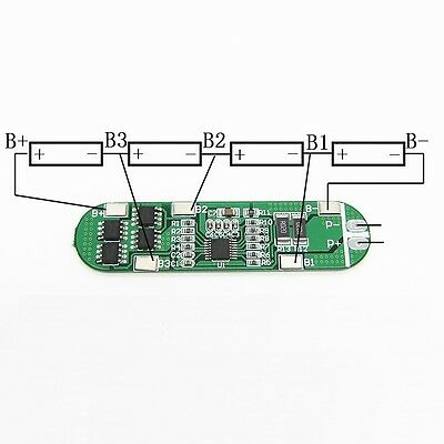 NEW 4S 6A Li-ion Lithium Batterie 3.7v 18650 Charger Battery Protection Board