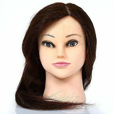 Bestmall 90%  Real Human Long Hair for Hairdressing Training & Salon Practice