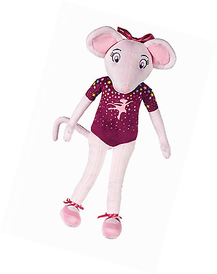 16 Inches Tall Angelina Ballerina Soft Toy Dressed in Purple (K29)