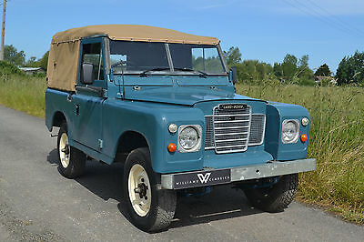 """Land Rover Series 3 88"""" Softop 200Tdi Conversion & Galvanised Chassis TAX EXEMPT"""