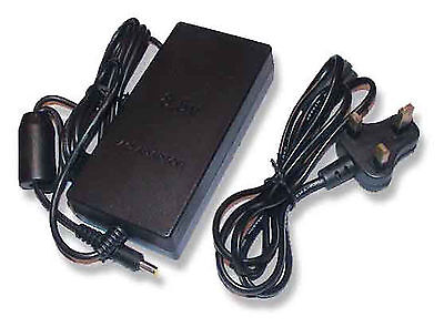 PLAYSTATION 2 PS2 SLIM REPLACEMENT MAINS POWER SUPPLY inc 3 PIN POWER CABLE UK