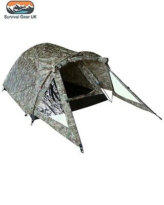 Elite BTP Tent Twin Skin Shelter Bivi Army Camping Fishing 2 Person Lightweight