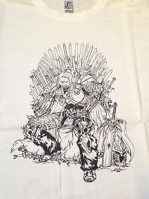 T Shirt Collector Game of Thrones Artas World of Warcraft gamer geek wow