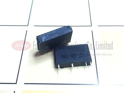 RB105-DE PCB Mount SPST NO Relay 5A 24V 4 Pins x 2pcs