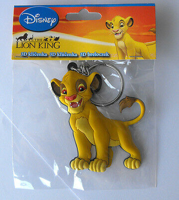 Disney Brand New Soft Keychain Lion King Simba Europe MINT in bag