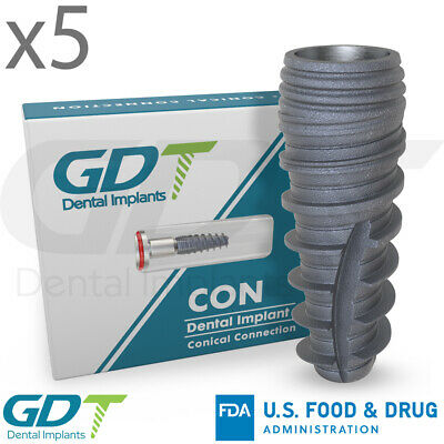 Conical Connection Implant RP Active Hex,  Dental Nobel Active® Comapatible