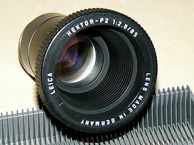 Projection Lens Leica HECTOR-P2 2,8/85 mm Lens made in Germany