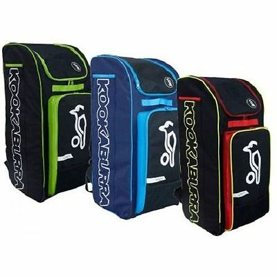 27.85  NEW  2017  Kookaburra Pro D7 Duffle Cricket Bag   BLACK /lime FREEPOST