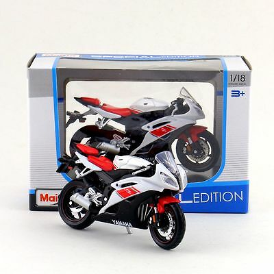 Maisto 1:18 Motorcycle Model/2008 YAMAHA YZF-R6 /Diecast Educational Collection