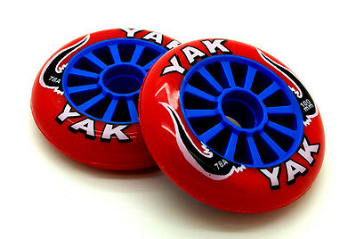 2 Yak Scooter Wheels 100Mm - Replacement Scooter Wheels - Huge Clearance Sale!